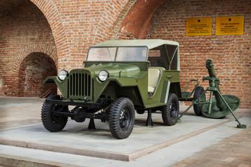 RUSSIA, NIZHNY NOVGOROD:  Passenger road vehicle GAZ-67B
