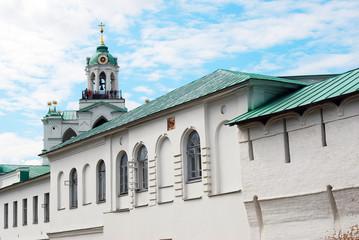 Holy Transfiguration monastery, Yaroslavl. UNESCO Heritage.