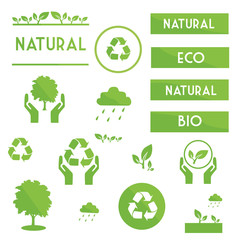 ecological elements symbols and signs