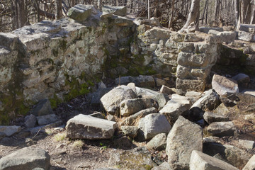 Stonewall ruins in Charlotte North Carolina