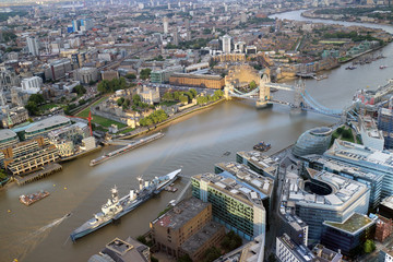 London panoramic view