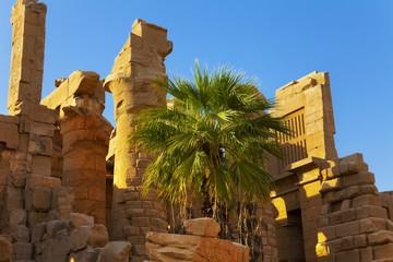 Karnak temple ruins
