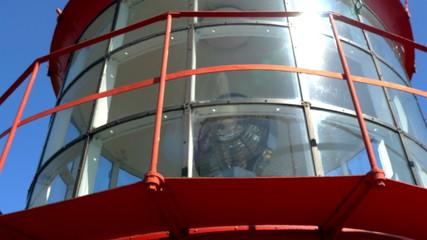 The big light inside the lighthouse in Estonia GH4 4K UHD