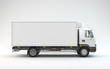 Leinwandbild Motiv Truck Ready For Branding