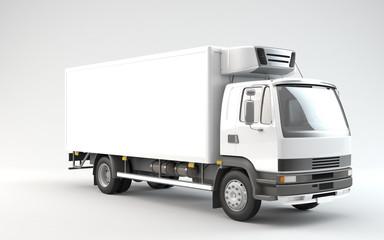 Truck Ready For Branding