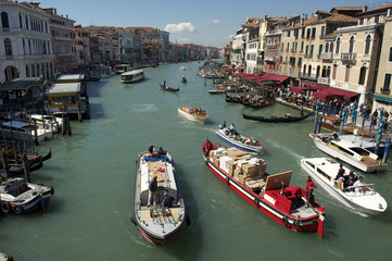 Grand Canal Venice Morning View