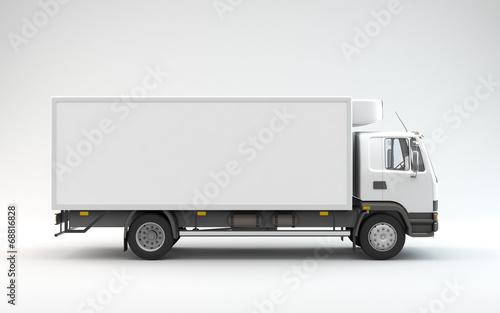 Truck Ready For Branding - 68816828