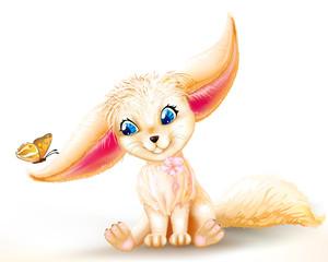 fairy baby fox