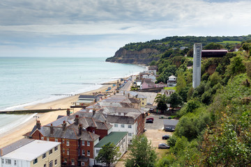 Isle of Wight Shanklin tourist and holiday town