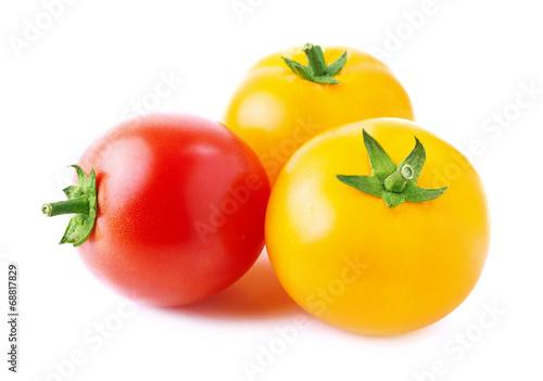 Fresh ripe tomatoes.