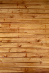 Brown wood plank wall texture.