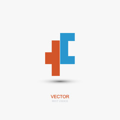 vector abstract icon element design.