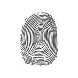 Fototapety fingerprint