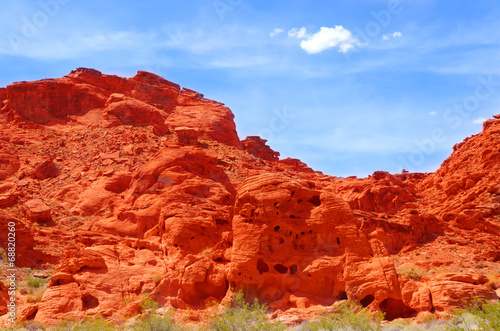 Tuinposter Canyon Valley of fire
