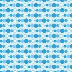 Seamless Blue Background