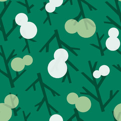 seamless pattern winter