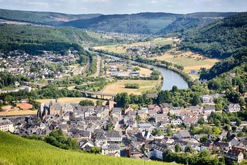 Saarburg, Germany by Summer