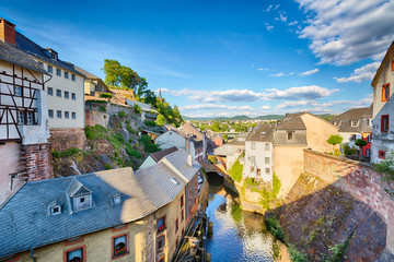 Old European Town of Saarburg, Germany
