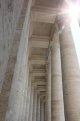 サンピエトロ大聖堂、回廊、バチカン市国