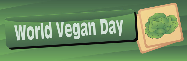 Banner World Vegetarian Day