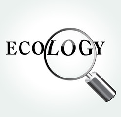 Vector ecology concept illustration