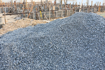 gravel for construction industry