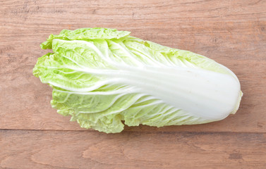 lettuce on background
