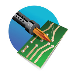 soldering and circuit