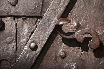 Old Door - Wrought Iron