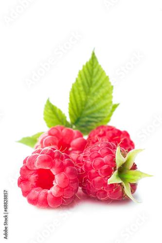 Leinwand Poster Raspberries
