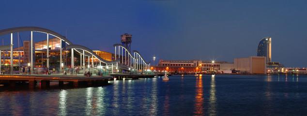 Marina Port Vell and the Rambla del Mar, Barcelona