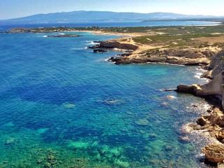 belvedere su Sa Mesa Longa in Sardegna