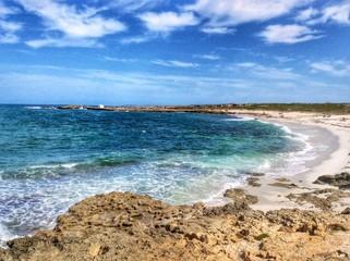 spiaggia di Is Arutas vicino Oristano