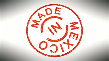 Stempel Made in Mexico