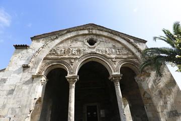 The church of Hagia Sophia in Trabzon, Turkey
