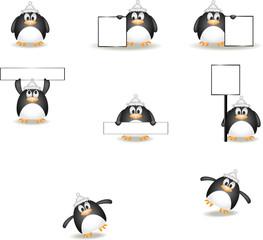 Illustration of a little penguin