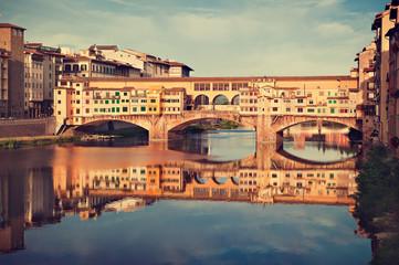 Florence ,Ponte Vecchio, Firenze, Italia