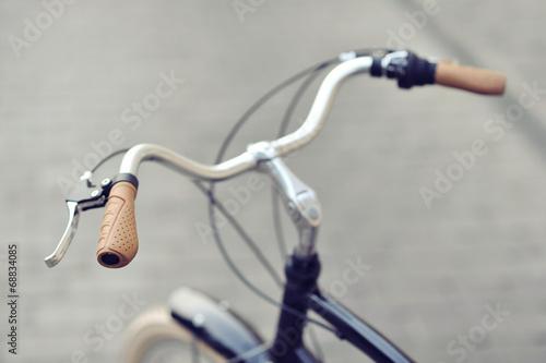 Papiers peints Velo Vintage bike handlebar