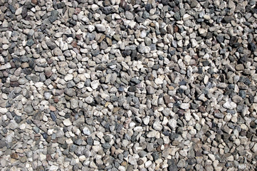 Gravel Road Surfaces Texture Backgrounds, Texture 6