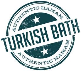 turkish hamam stamp
