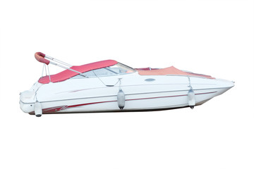 the image of a motor boat