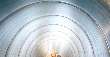 pipe metal texture inside