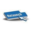 Relaunch button