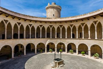 Bellver Castle inner court