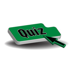 Green quiz button