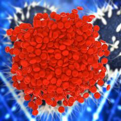 Blutklumpen - 3d Render