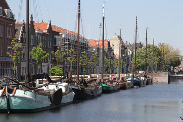 Historic Delfshaven in Rotterdam