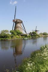 Dutch Windmills, Kinderdijk UNESCO site