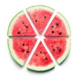 Fototapety sliced watermelon