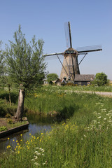 Unesco World heritage site Kinderdijk